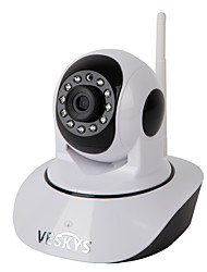 cheap -VESKYS 1.0 MP Indoor with Day Night Prime 128(Day Night Motion Detection Dual Stream Remote Access Plug and play IR-cut) IP Camera