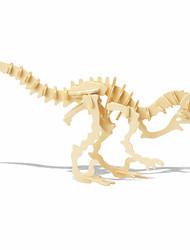 cheap -3D Puzzle Wooden Puzzle Dinosaur Bones DIY 1pcs Kid's Unisex Gift