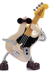 abordables -Caja de música Guitarra Juguetes Cuadrado Madera Piezas Unisex Cumpleaños día de San Valentín Regalo