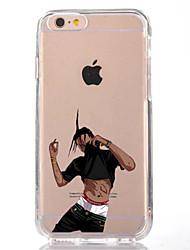 billige -Til iphone 7 tegneserie mand tpu blødt ultra tyndt bagcover cover til Apple iPhone 7 plus 6s 6 plus se 5s 5 5c 4s 4