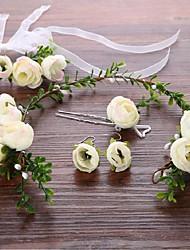 cheap -Alloy Flowers Hair Stick Headpiece Elegant Classical Feminine Style