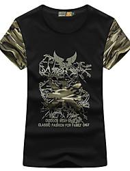 Femme Tee-shirt de Randonnée Séchage rapide Respirable Tee-shirt Hauts/Top pour Camping / Randonnée Pêche Eté M L XL XXL XXXL