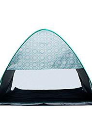 preiswerte -COME 2 Personen Zelt Strandzelt Einzeln Camping Zelt Einzimmer Pop-up-Zelt Tragbar UV-resistant für Camping Reisen Edelstahl CM