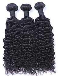 abordables -3 offres groupées Cheveux Brésiliens Bouclé / Tissage bouclé Cheveux humains Tissages de cheveux humains Tissages de cheveux humains Extensions de cheveux humains Femme