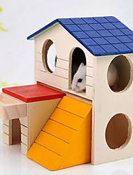 Pet Small Wooden House Pet Supplies