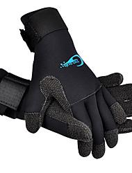 abordables -Guantes de esquí Unisex Dedos completos Listo para vestir Nailon Esquí Deportes de Nieve