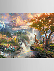 Giclee Print Famous Classic Pastoral,One Panel Canvas Horizontal Print Wall Decor For Home Decoration