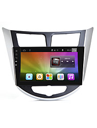 Bonroad 9quad core 1024 * 600 android 6,0 ​​bil dvd gps afspiller til solaris verna accent bil pc headunit bilradio video afspiller