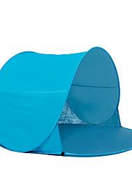 preiswerte -COME 2 Personen Zelt Strandzelt Einzeln Camping Zelt Einzimmer Pop-up-Zelt Tragbar UV-resistant für Camping Reisen Fiberglas CM