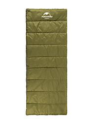 Schlafsack Rechteckiger Schlafsack Einzelbett(150 x 200 cm) 5 HohlbaumwolleX75 Camping warm halten Tragbar