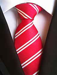 7 Kinds  Men's Business Party Polyester Silk Neck Tie Necktie