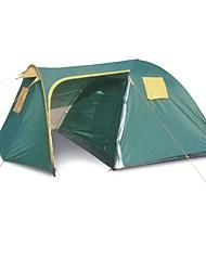 preiswerte -5-8 Personen Zelt Doppel Camping Zelt Einzimmer Mit Vorzelt Familien Zelte für Camping Reisen CM