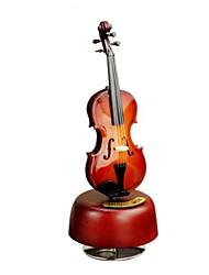 Недорогие -музыкальная шкатулка Скрипка Резина Универсальные Игрушки Подарок