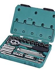 Sata® 09506 25pc 12.5mm Profi-Schraubenschlüssel Werkzeug-Set mit Werkzeugkasten