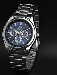 CHENXI® Pánské Hodinky k šatům Módní hodinky Náramkové hodinky Křemenný Japonské Quartz Voděodolné Kapela Přívěsek Stříbro