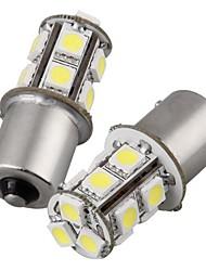 abordables -2pcs 1156 Automatique Ampoules électriques 2W SMD 5050 135lm Phare arrière For Universel