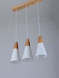 Pendant Light ,  Modern/Contemporary Painting Feature for LED Wood/Bamboo Living Room Bedroom Dining Room Kitchen Study Room/Office