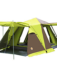 CAMEL 3-4 persone Tenda Doppio Tenda da campeggio Una camera Tende da campeggio formato famiglia per Escursionismo Campeggio Viaggi CM