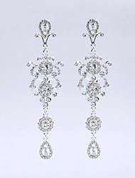Недорогие -красивые хрустальные кисточки серьги элегантный классический женский стиль