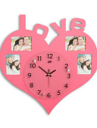 cheap -Large Size Wall Clock with Fashion Picture Frame Function Design
