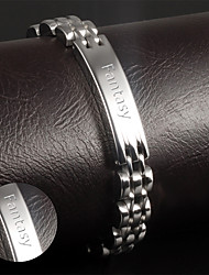 cheap -Korean fashion jewelry wholesale leisure smooth titanium bracelet for men Metrosexual Jewelry section GS811