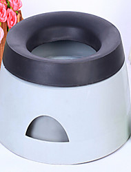 Недорогие -кошачьи чаши& бутылки для воды& водонепроницаемый портативный двухсторонний складной