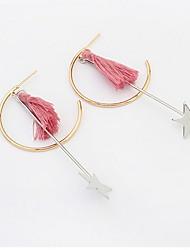 Men's Women's Drop Earrings Jewelry Basic Unique Design Tassel Tassels USA Fashion Classic Vintage Elegant Bohemian Punk Personalized