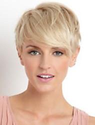 preiswerte -bezaubernd elegant geraden kurze Menschenhaarperücke der moderne Frau Haar
