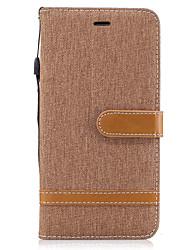 preiswerte -Für iPhone X iPhone 8 Hüllen Cover Geldbeutel Kreditkartenfächer mit Halterung Flipbare Hülle Handyhülle für das ganze Handy Hülle