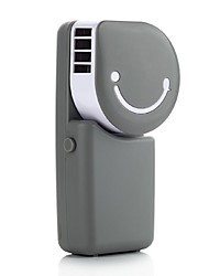 Mini USB tenuto in mano l'aria condizionata ricaricabile piccolo ventilatore di refrigerazione portatile lascia piccolo ventilatore