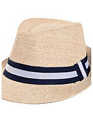 Недорогие -Для мужчин На каждый день Шляпа от солнца,Лето Соломка Пэчворк