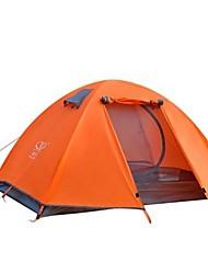 2 Pessoas Tenda Único Barraca de acampamento Um Quarto Tenda Dobrada Á Prova-de-Chuva para Campismo Viajar CM