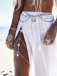cheap -Body Chain, Leg Chain Vintage, Bohemian, Fashion Women's Gold / Silver Body Jewelry For Casual / Sports