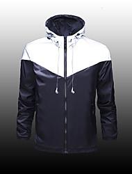 Недорогие -LEIBINDI Муж. Куртка для туризма и прогулок На открытом воздухе Быстровысыхающий С защитой от ветра Ультрафиолетовая устойчивость Защита