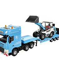 cheap -Construction Truck Set Toy Truck Construction Vehicle Toy Car 1:60 ABS Metal Rubber Unisex Kid's Toy Gift
