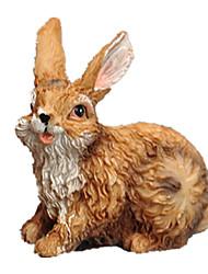 abordables -Juguetes y figuras de acción Rabbit Encantador Resina Chica Regalo