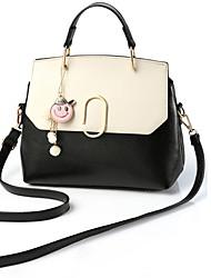 Women Bags All Seasons PU Shoulder Bag for Casual Office & Career Black Blushing Pink Dark Gray Military Green Lake blue