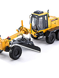 cheap -Toy Cars Model Car Truck Construction Vehicle Fire Engine Vehicle Excavator Motor Grader Toys Simulation Square Truck Excavating Machinery