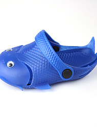 New summer fish garden shoes children's shoes men and women EVA anti-skid home sandals children beach slippers