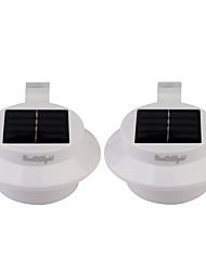 preiswerte -Youoklight 2pcs 0.5w 1.2v 0.1a 3 * 3528 smd warmes weißes / kaltes weißes geführtes Licht mini ip68 wasserdichter solarbetriebener Zaun /