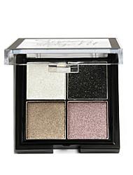 abordables -Maquillaje cosmético de la gama de colores de los pigmentos 1pcs fijó la sombra de ojo desnuda