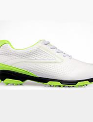 Недорогие -Муж. Кроссовки для ходьбы / Повседневная обувь / Обувь для игры в гольф Резина Пешеходный туризм / Спорт в свободное время Противозаносный, Anti-Shake, Амортизация Черный / Зеленый