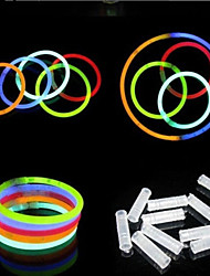cheap -LED Lighting Glow in the Dark / Fluorescent / Noctilucent Plastic Gift 100 pcs