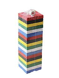 cheap -Building Blocks Stacking Games Stacking Trumbling Tower Toys Square Balance Children's 1 Pieces