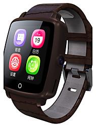 baratos -Homens Relógio Inteligente Digital sensível ao toque Calendário Cronógrafo Comunicação taquímetro Velocímetro Podômetro Monitores de