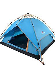 economico -Naturehike 3-4 persone Tenda Doppio Tenda da campeggio Una camera Tenda automatica per Campeggio Viaggi CM