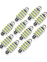 cheap -10Pcs 39MM 16*2835 SMD LED Car Light Bulb White Light DC12V