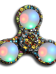 Handkreisel Handspinner Spielzeuge Ring Spinner LED Spinner ABS EDCLindert ADD, ADHD, Angst, Autismus Stress und Angst Relief Büro