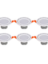 6Pcs Yangming3W 30006000K Warm White Cool White LED Canister Light (85-265V)  010