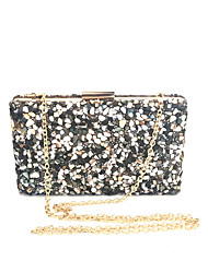cheap -Women's Bags Glasses / Metal Evening Bag Crystals for Event / Party Blue / White / Black